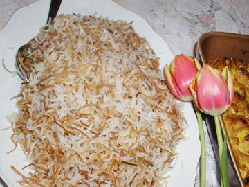 Arishta plov - Noodle pilaf