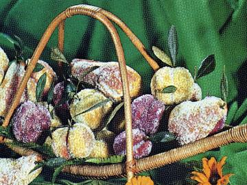 Azerbaijan fruits pastry