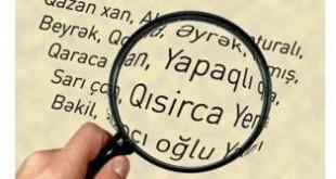 Azerbaijani Personal Names