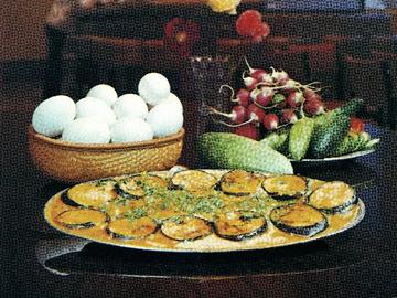 Badimjan chigirtmasi - Aubergine omelette