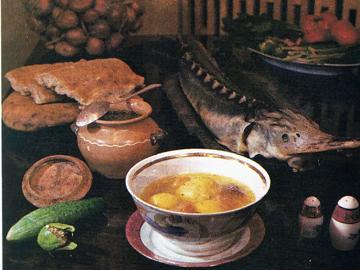 Baliq kuftasi - Fishcakes in broth
