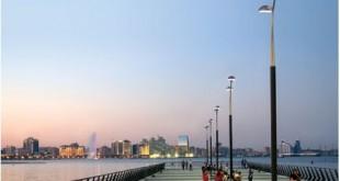 Baku's Seaside Boulevard