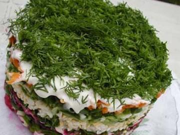 Fastidiousness salad