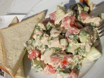 Favvaralar meydani salati - Fountains Square salad