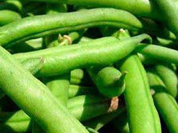Göy lobya bozbaşı - Green bean soup