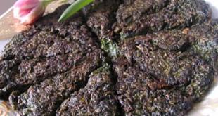 Goyarti kukusu - Herb omelette