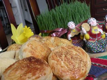 Guba tikhmasi - Guba-style sweet pastries