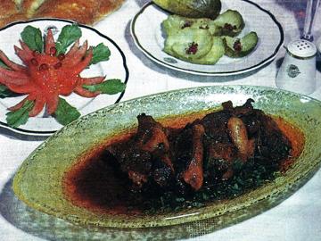 Havaskar qovurmasi - Lamb with saffron