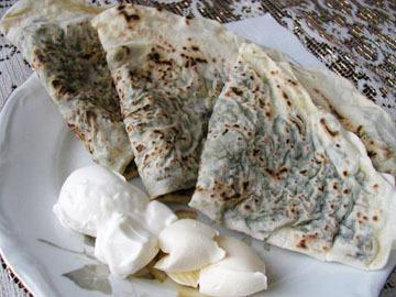 Herb pancakes - Goyerti gutabi