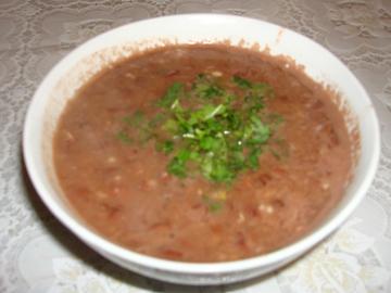 Lobya soyutmasi - Kidney bean soup