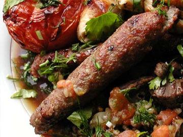 Minced lamb - Lula kebab