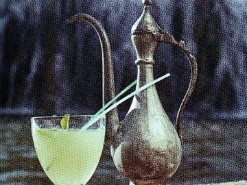 Nanəli şərbət - Mint sherbet