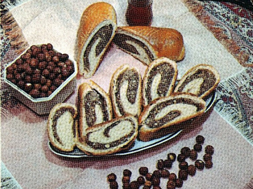 Nut roll in Ordubad style