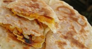 Pumpkin pancakes - Balgabag gutabi