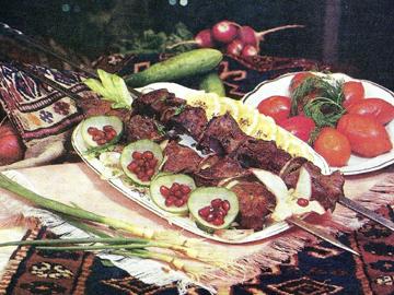 Qara ciyər kababı - Liver kebab