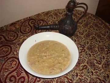 Qozlu siyiq - Walnut porridge