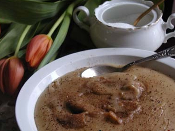 Quymaq - Flour and butter pudding