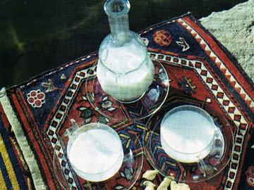 Südlü şərbəti - Milk sherbet