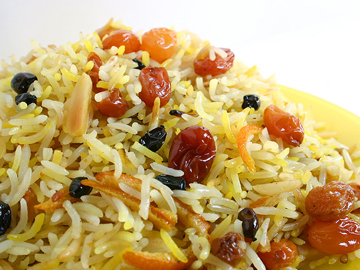 Shirin plov - Sweet rice pilaf