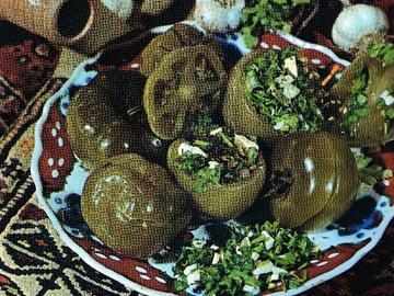 Sirkaya qoyulmush yashil pomidor - Pickled green tomatoes