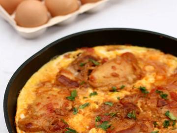 Toyug chigirtmasi - Chicken with eggs