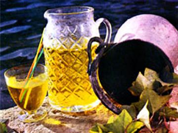 Saffron sherbet or syrup