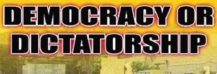 democrasy vs dictatorship