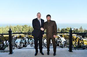 ilham Aliyev and Ramzan Kadirov