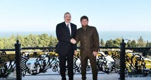 ilham Aliyev and Ramzan Kadyrov