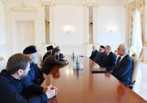 Ilham Aliyev,Ramzan Kadyrov