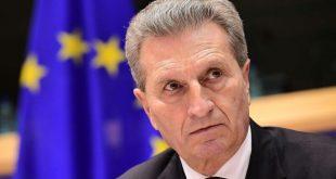 European Commissioner Oettinger to visit Azerbaijan
