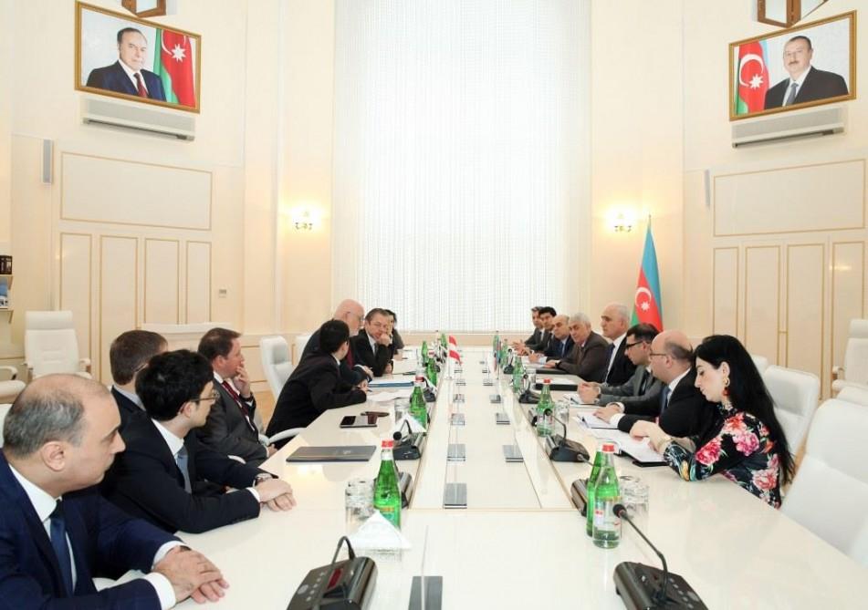 Austria and Azerbaijan