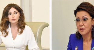 Mehriban Aliyeva and Dariga Nazarbayeva