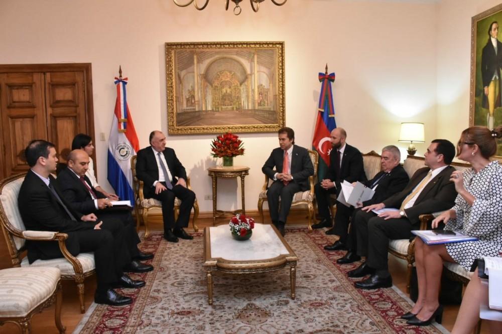 Azerbaijan and Paraguay