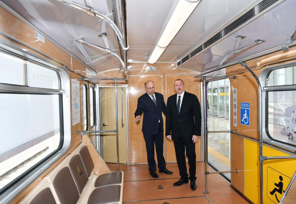 Bakmil station of Baku Metro
