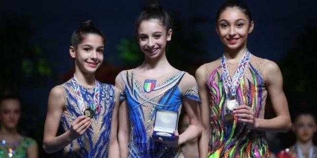 Azerbaijani-gymnast Arzu Jalilova