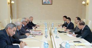 China and Azerbaijan