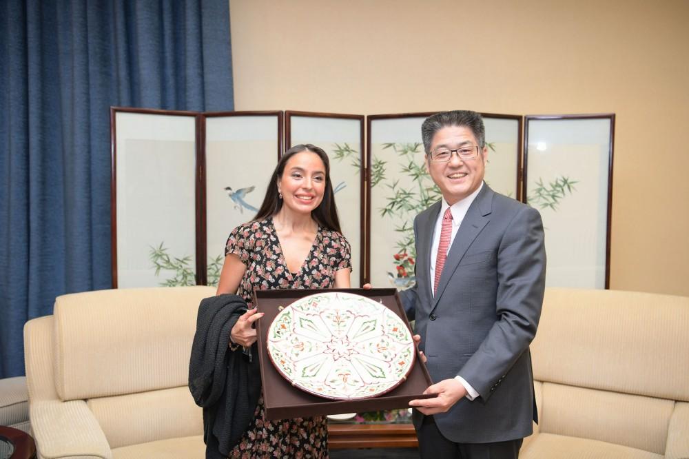 Vice-President of Heydar Aliyev Foundation Leyla Aliyeva