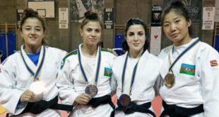 Azerbaijani women judokas