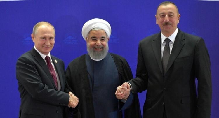 Azerbaijan ,Russia and Iran
