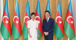 First Vice-President Mehriban Aliyeva met with MEDEF President