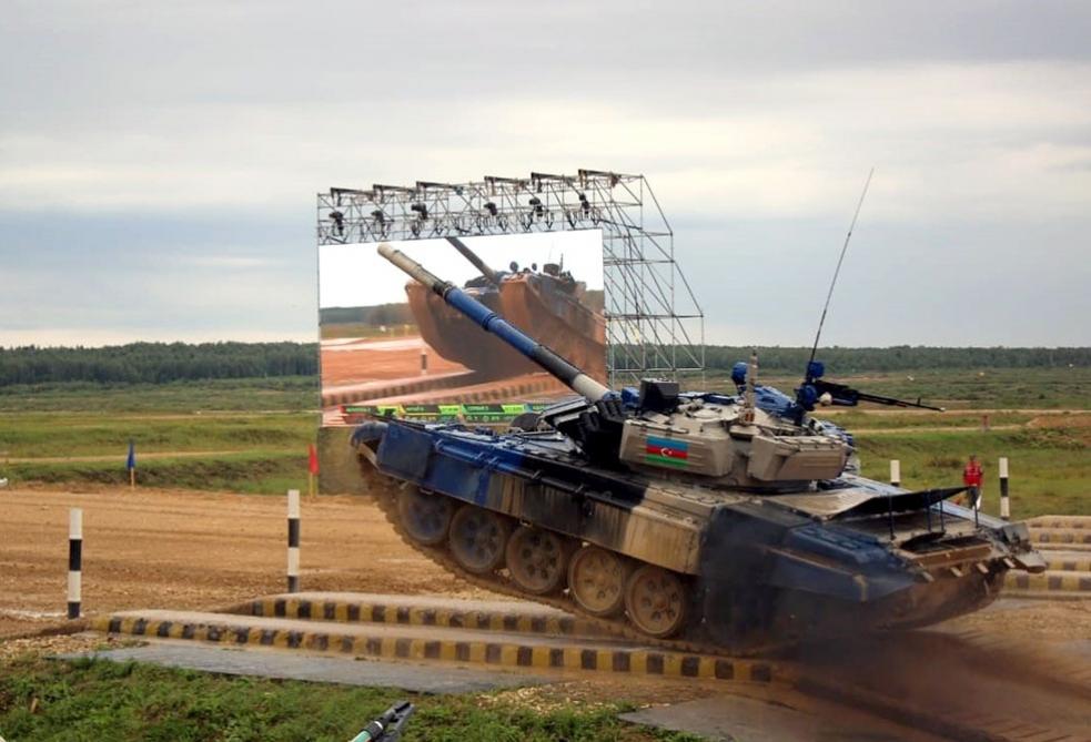 """Tank Biathlon"""
