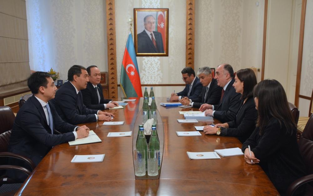 Azerbaijan and Kazakhstan
