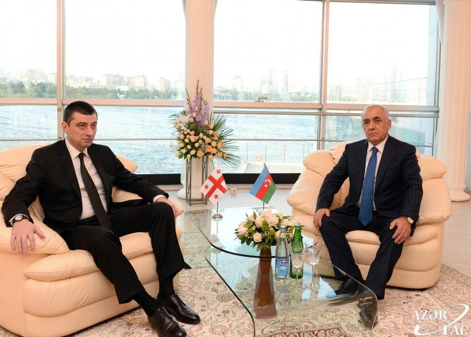 Azerbaijan and Georgia