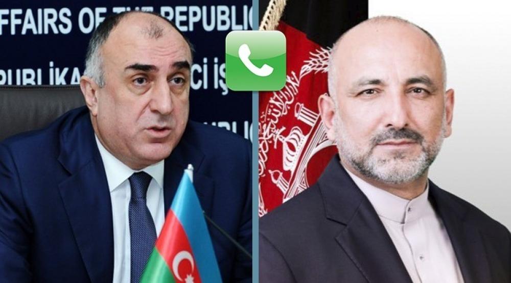 Azerbaijani, Afghan FMs