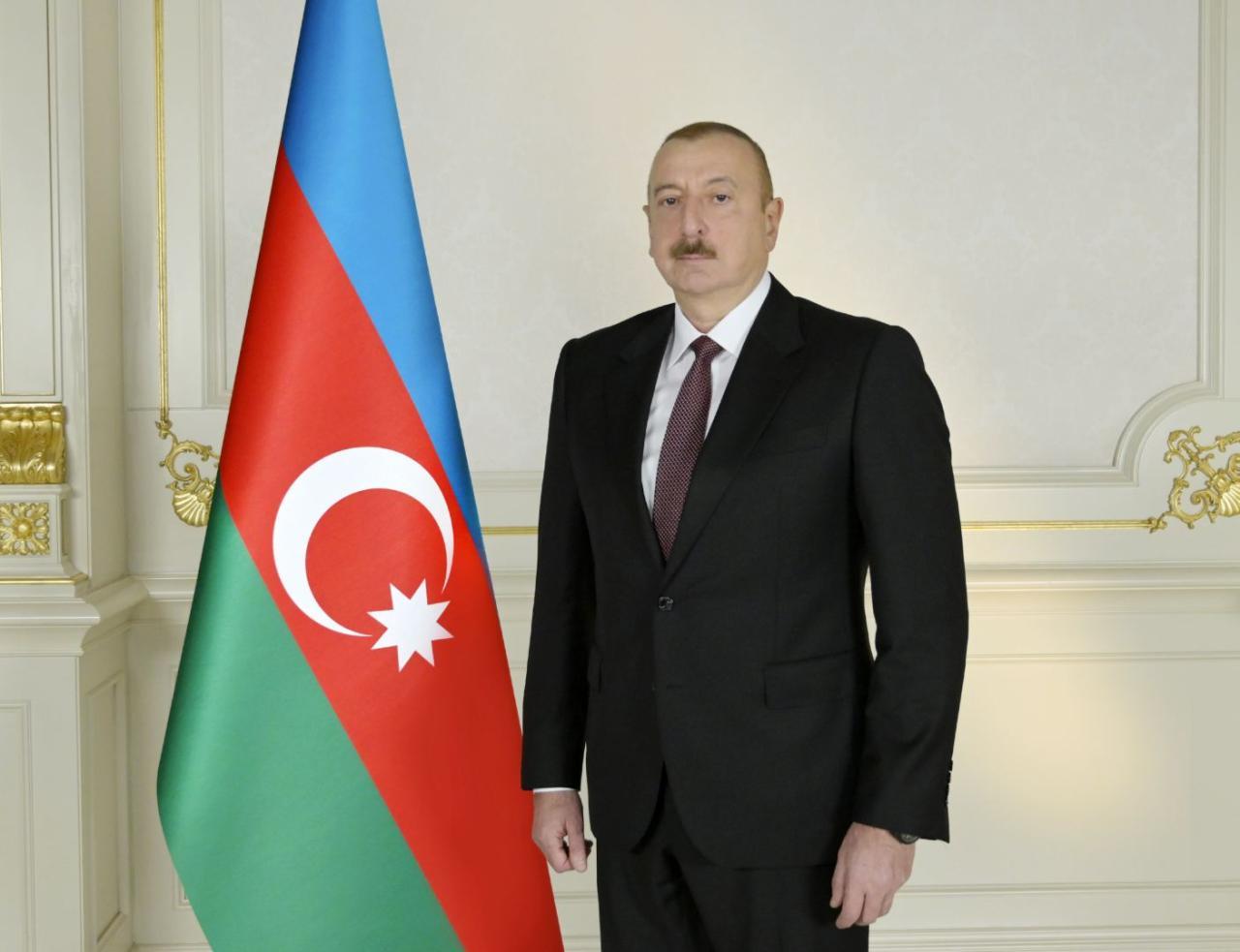 President İlham Aliyev
