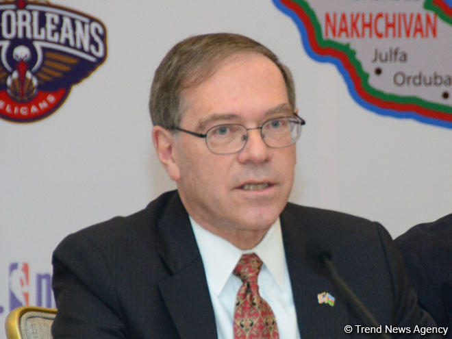 US Ambassador to Azerbaijan Earle Litzenberger