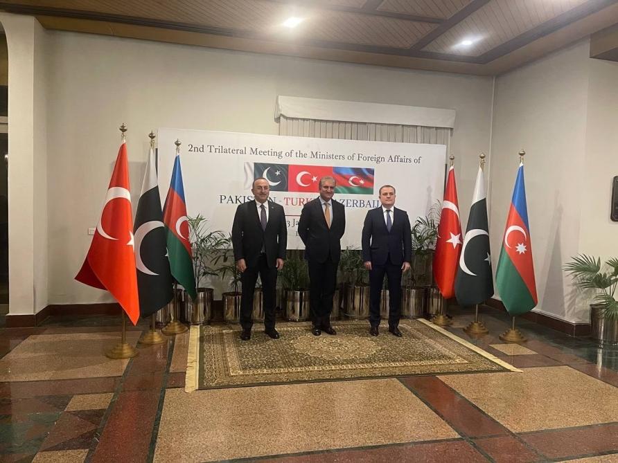 Azerbaijani, Pakistani, Turkish FMs