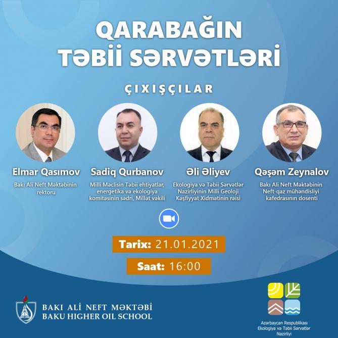 Natural Resources of Karabakh