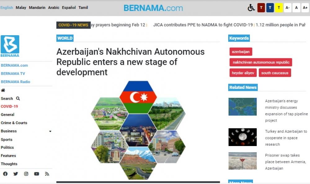 BERNAMA news agency